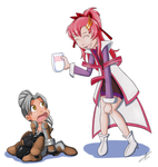 Sera and Lacus AR by The-Padded-Room