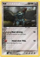 Kat from Halo Reach pokemon card by Lukum