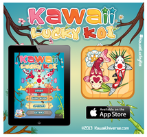 Kawaii Lucky Koi App Game Promo by KawaiiUniverseStudio