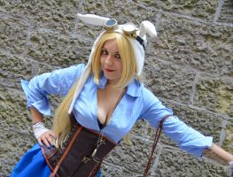 Fionna Steampunk Cosplay by MikiCosplay85