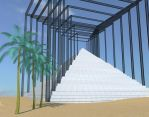 pyramid for a modern Pharoh by plasmid1
