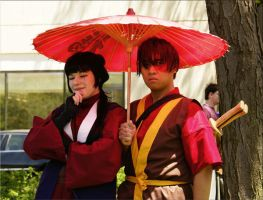 Mai and Zuko ACEN 2008 by Ethereal-Glutton