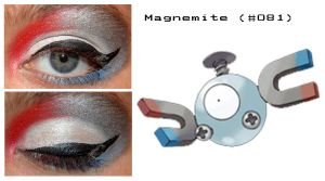 Pokemakeup 081 Magnemite by nazzara