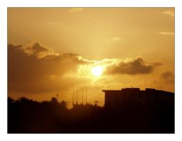 brownsville sunset by painfullyxuncool