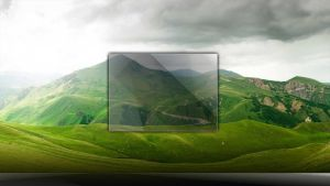 Company Landscape Logon With Aero glass by wallybescotty