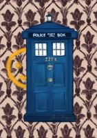 Tardis 221B by ImperfectSoul