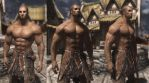 A new normal map for males in Skyrim by albron111