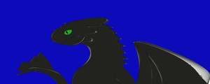 Toothless 3 by SharkMaster16
