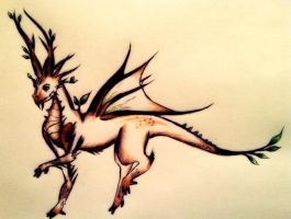 Forest Dragon by timonlover123