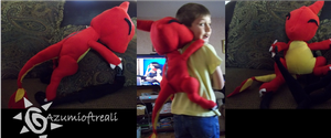 Charmeleon Backpack by azumioftreali