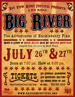 Big River Poster by chrisringeisen