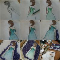 Process of drawing Wildest Dreams by sxrillixmonster