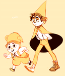 Over the Garden Wall by SIIINS
