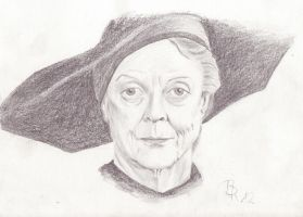 McGonagall by LoonaLucy