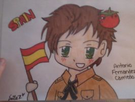 Chibi Spain by DBZchick27