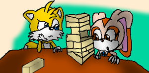 Jenga Players by Toad900
