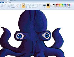 Zoomed Pixtopus by Storm1822