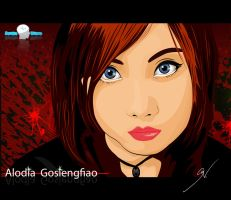 Alodia Gosiengfiao Vector by brainwavedesigns