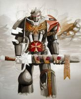 Black Templar WH40K by precinctomega