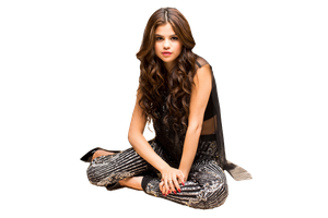 Selena Gomez png (iHeartRadio) by MerceEditions