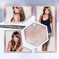 +Photopack png de Lea Michele. by MarEditions1