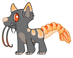 Shrimp Adoptable for Auction [OPEN] by RooCoo