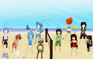 PV:: Volleyball Games by BaconRainbow
