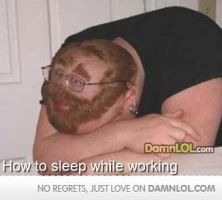 How To Sleep While Working by dimapool23