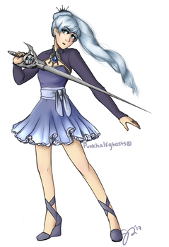 Weiss by 8angarang