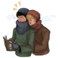 big scarves and beanies by kneelmortals