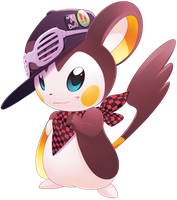 PuNK Emolga OC by phation