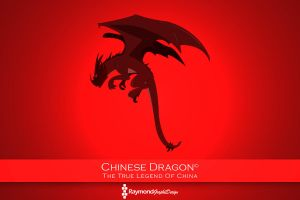 Chinese Dragon - 100% Pen Tool! 100% Photoshop! by RaymondGD