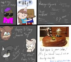 HAPPY B-DAY TheWhiteWolf09  by LeslieElena19