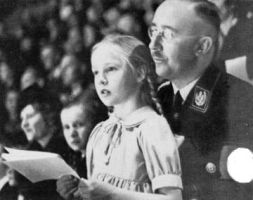 Himmler and his little girl by anbuSquadLeader