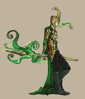Loki again by Pronkbaggins