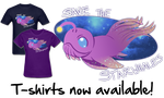 Save the Starwhales: The T-Shirt by Kataoi