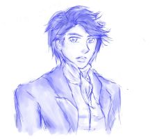 Will Herondale Sketch by achoome