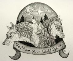 Follow your Wolf Spirit by RedSoulWolf13