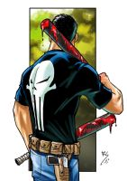 punisher color..... by Ruihq