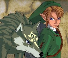 Wolf Link Fan Cel by ShinyLady