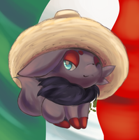Mexican Zorua by Joltik92