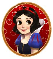 Snow White by courtneygodbey