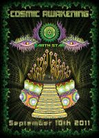 COSMIC AWAKENING flyer by grebenru