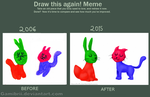 Meme: Before and After 8 by Gamibrii