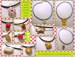 Simple Sweet Necklaces by tedsie