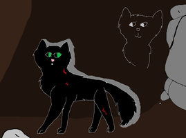 Hollyleaf in the tunnels by Official-Fallblossom