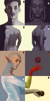 Warm ups 07 - Colour Palette by coupleofkooks