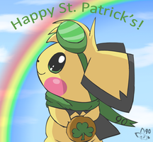 Happy St. Patrick's Day 2012 by pichu90