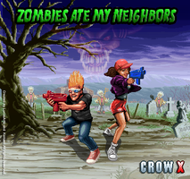 ZOMBIES IN MY CEMENTERY by crowbrandon