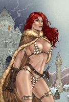 RedSonja by MarcelloHolanda by carol-colors